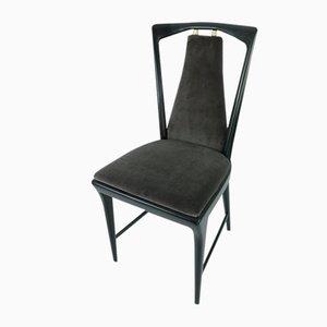 Dining Chairs by Osvaldo Borsani for Atelier Borsani Varedo, 1940s, Set of 4
