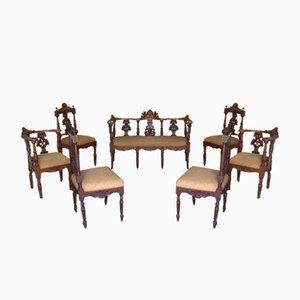 Antikes Wohnzimmer Set