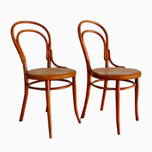 Antique Nr. 14 Dining Chairs by Michael Thonet for Thonet, 1890s, Set of 2