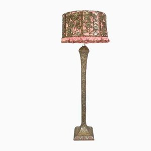 Vintage Liberty Brass and Copper Floor Lamp
