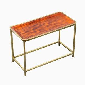 Table d'appoint Vintage en Laiton, Italie