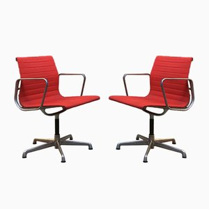 Desk Chairs by Charles & Ray Eames for ICF De Padova, 1970s, Set of 2