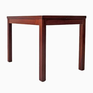 Rosewood Veneer Side Table, 1970s