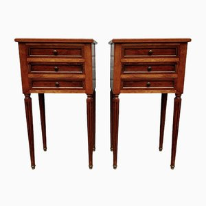 Vintage Directoire Style French Nightstands, 1930s, Set of 2