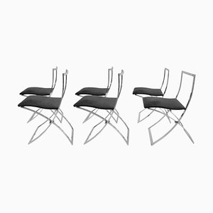 Model Luisa Folding Chairs by Marcello Cuneo, 1970s, Set of 6