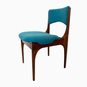 Mid-Century Rosewood Model Beatrice Dining Chairs by Giuseppe Gibelli for Sormani, Set of 6