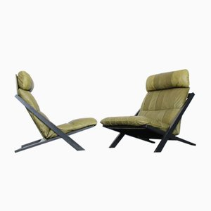 Vintage Model DS80 Lounge Chairs by Ueli Berger for de Sede, 1990s, Set of 2