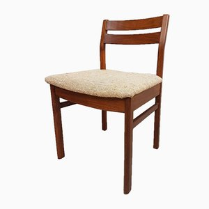 Mid-Century Scandinavian Teak Dining Chairs, Set of 6