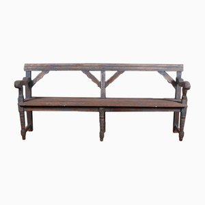English Settle Bench, 1860s