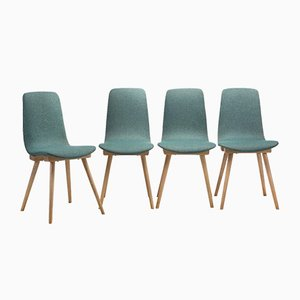 Model A-6150 Chairs by Bent Furniture Factory, Set of 4, 1960s