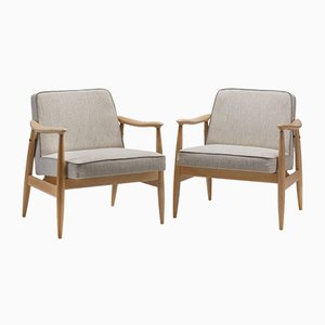300-203 GFM-87 Armchairs from Gościcino Furniture Factory, 1970s, Set of 2
