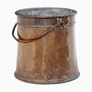 19th Century Arts and Crafts Copper Pail