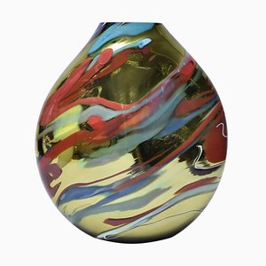 Murano Glass Vase from Alberto Dona