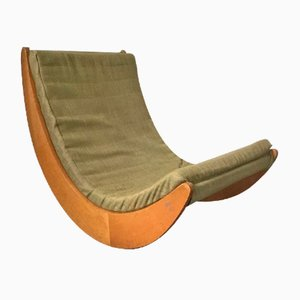 Mid-Century Rocking Chair by Verner Panton for Rosenthal