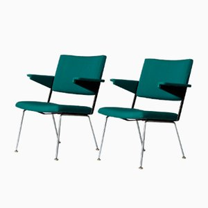 Model 1268 Armchairs by André Cordemeyer / Dick Cordemeijer for Gispen, 1963, Set of 2