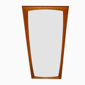 Large Rectangular Teak Mirror, 1960s