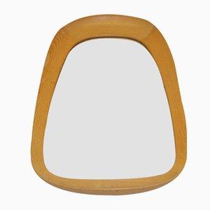 Swedish Oak Mirror from G&T Atelje, 1950s