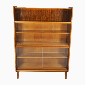 Vintage Walnut Display Shelf from Tatra, 1960s