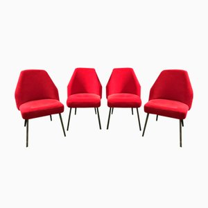 Mid-Century Campanula Chairs by Carlo Pagani for Arflex, Set of 4