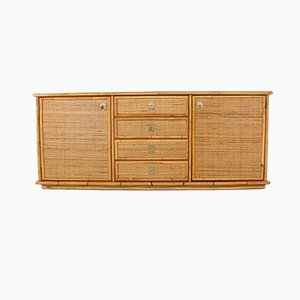 Bamboo and Rattan Buffet in the Style of McGuire, 1970s