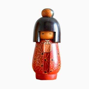Vintage Kokeshi Gumma by Kazuo Takamizawa for Sansaku Sekiguchi, 1920s