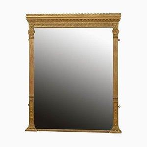 Victorian English Gilt Wall Mirror