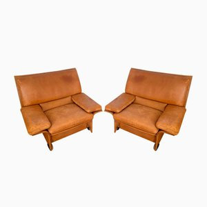 Model Albatros Lounge Chairs by Titiana Ammanati e Gianpiero Vitelli for Brunati, 1970s, Set of 2
