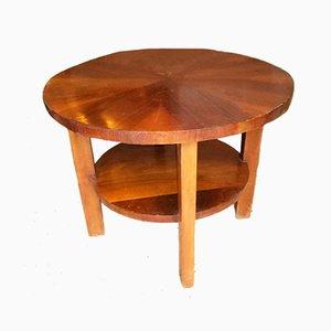 Round Coffee Table by Architetti Artigiani Anonimi, 1930s
