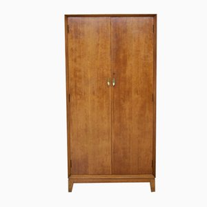 Mid-Century Walnut Compactum Wardrobe or Tallboy from Hamptons, 1970s