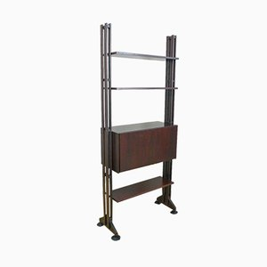 Italian Rosewood LB10 Bookcase by Franco Albini for Poggi, 1970s