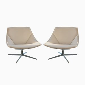 Model JL11 Space Lounge Chairs by Markus Jehs, Jürgen Laub for Fritz Hansen, 2000s, Set of 2