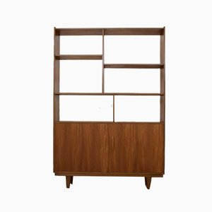 Mid-Century Teak Room Divider Shelf, 1960s