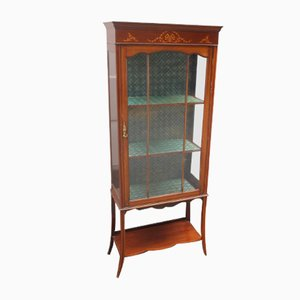 Chinese Mahogany Cabinet with Inlay, 1920s