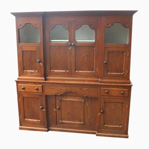 Large Pitch Pine Dresser, 1900s