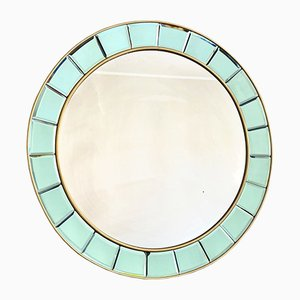 Mid-Century Mirror from Cristal Art, 1950s