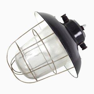 Industrielle Tschechoslowakische Mid-Century Deckenlampe, 1960er