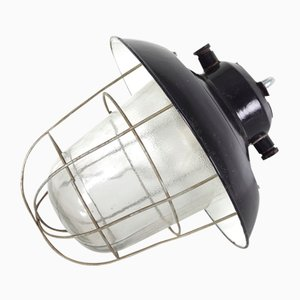 Mid-Century Industrial Czechoslovak Ceiling Lamp, 1960s