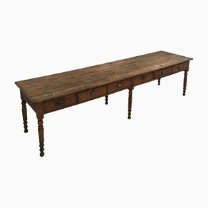Vintage Farmhouse Dining Table