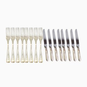 Vintage French Cutlery Set from Christofle, Set of 16