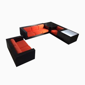Model Saratoga Living Room Set by Lella & Massimo Vignelli for Poltronova, 1960s