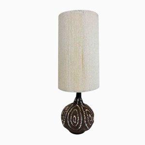 Vintage Keramik Tischlampe von Maurice Chalvignac, 1960er Jahre