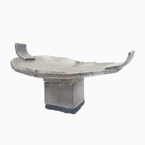 Moderne Steinkunst-Aluminiumskulptur von Boud Ceysens