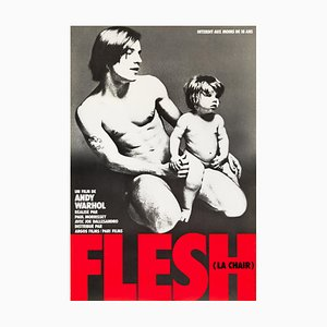 Andy Warhol's Flesh Poster by Francesco Scavullo, 1968