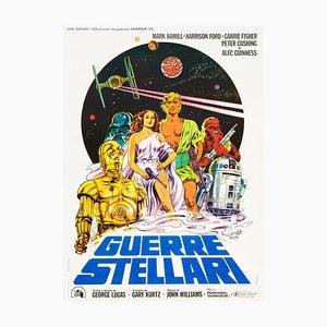 Póster de Star Wars de Michelangelo Papuzza, 1977