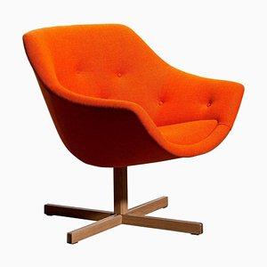 Mandarini Swivel Armchair by Carl Gustaf Hiort & Nanna Ditzel for Puunveisto OY, 1960s