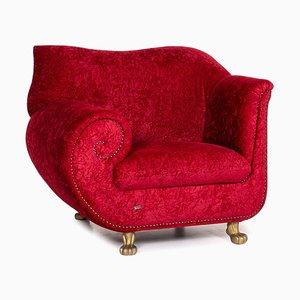 Velvet Fabric Guadi Armchair from Bretz