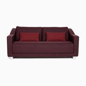 Violettes violettes 350 Sofa mit 3 Sitzen von Rolf Benz