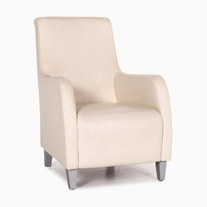 Cream Leather Armchair from Koinor
