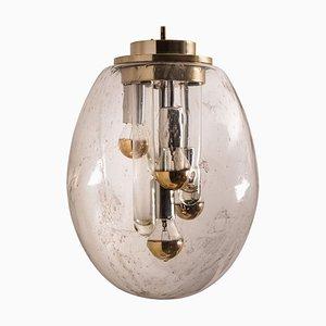 Space Age Sputnik Pendant Lamp by Doria Leuchten Germany, 1970s