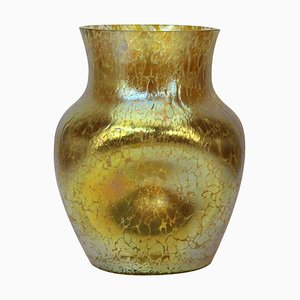 Art Nouveau Candia Papillon Decor Vase by Loetz Glass, 1898